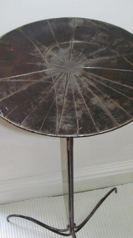 """Cyclotron"" Occasional Table"