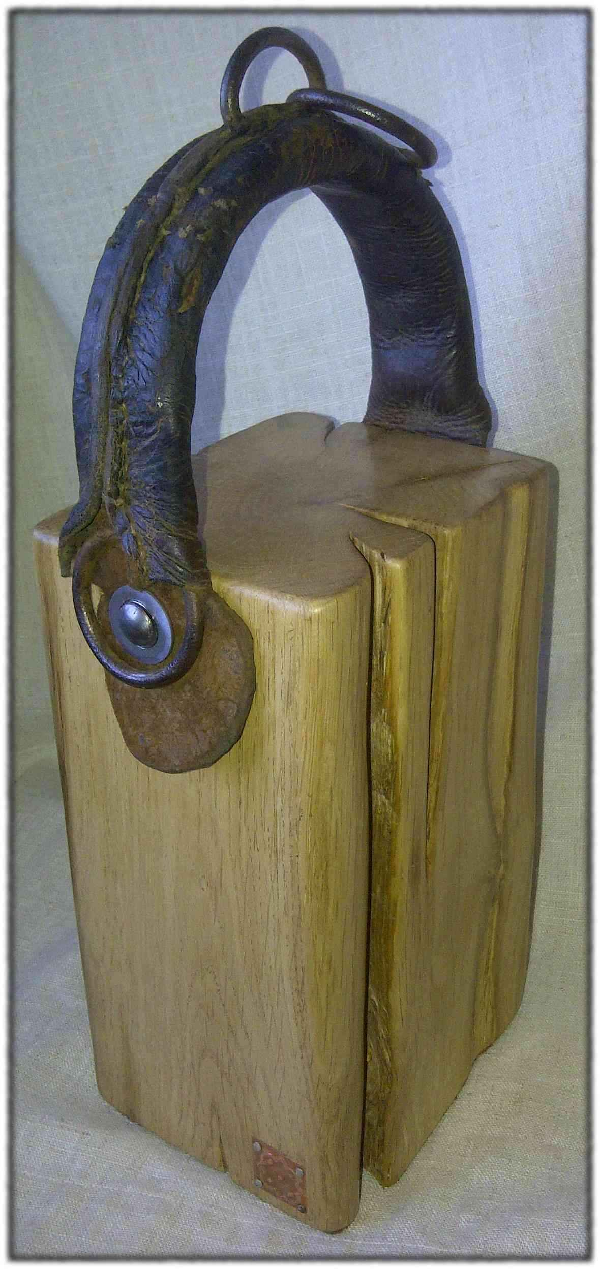 """Noseband and Oak"" Doorstop"
