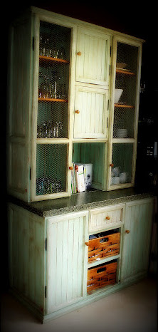 """Kim's Kitchen"" Welsh Dresser"