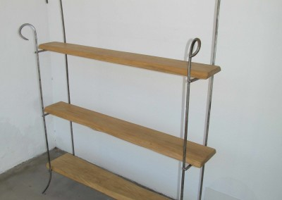 """Curlicue"" Shelf Unit"