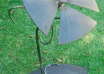 """Steel Magnolia"" Garden Ornament"